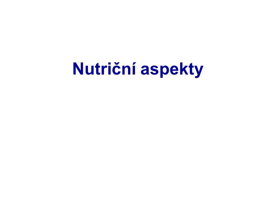 Nutriční aspekty