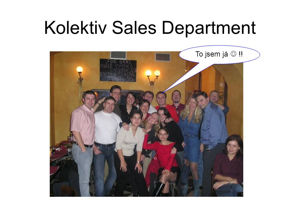 Kolektiv Sales Department