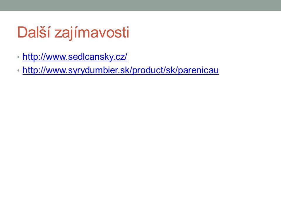 Další zajímavosti http://www.sedlcansky.cz/