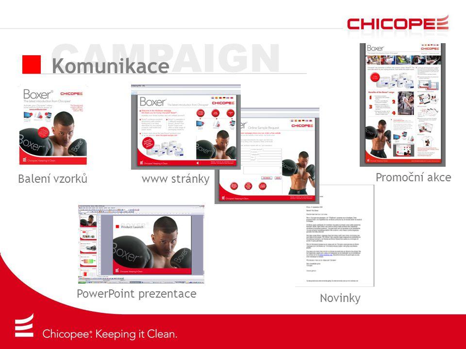 CAMPAIGN Komunikace Balení vzorků Promoční akce www stránky
