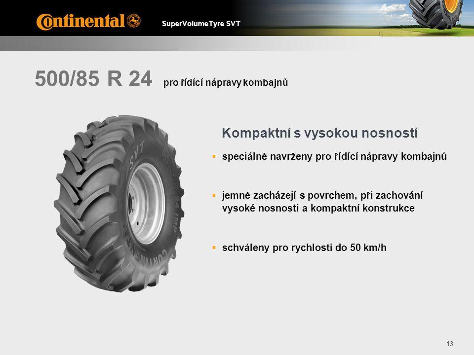 500/85 R 24 Kompaktní s vysokou nosností