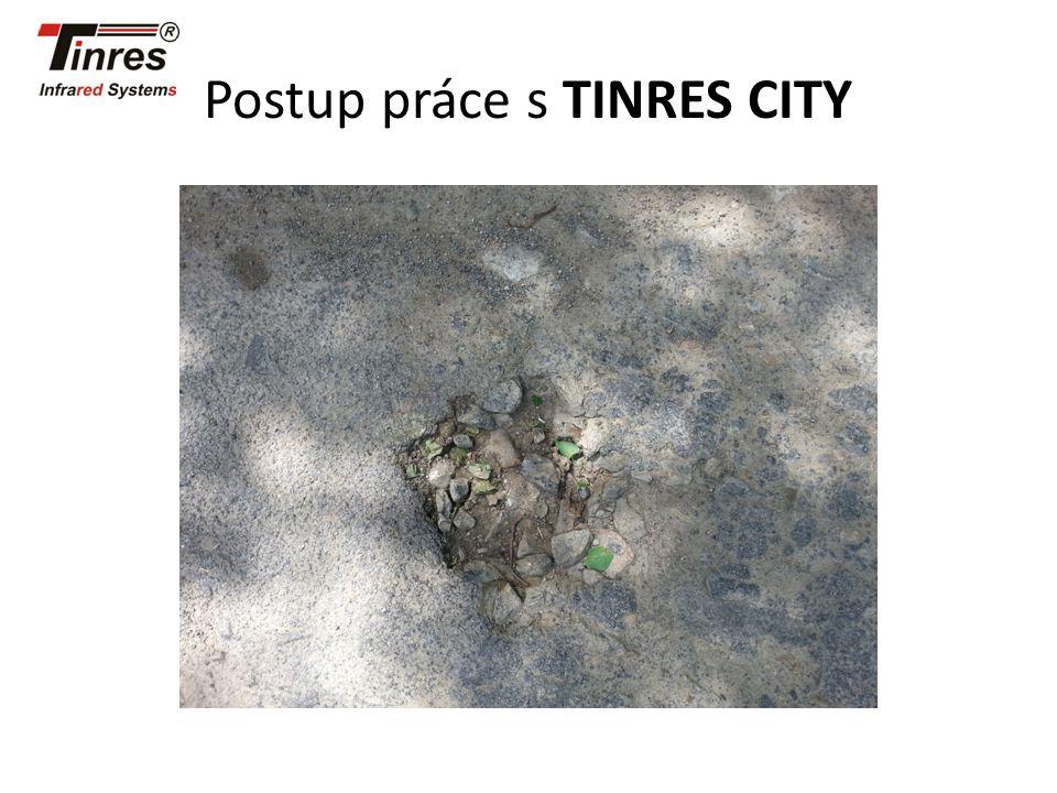 Postup práce s TINRES CITY