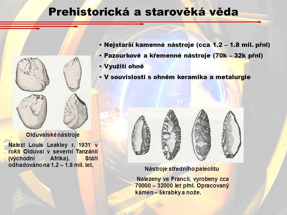 Nástroje středního paleolitu