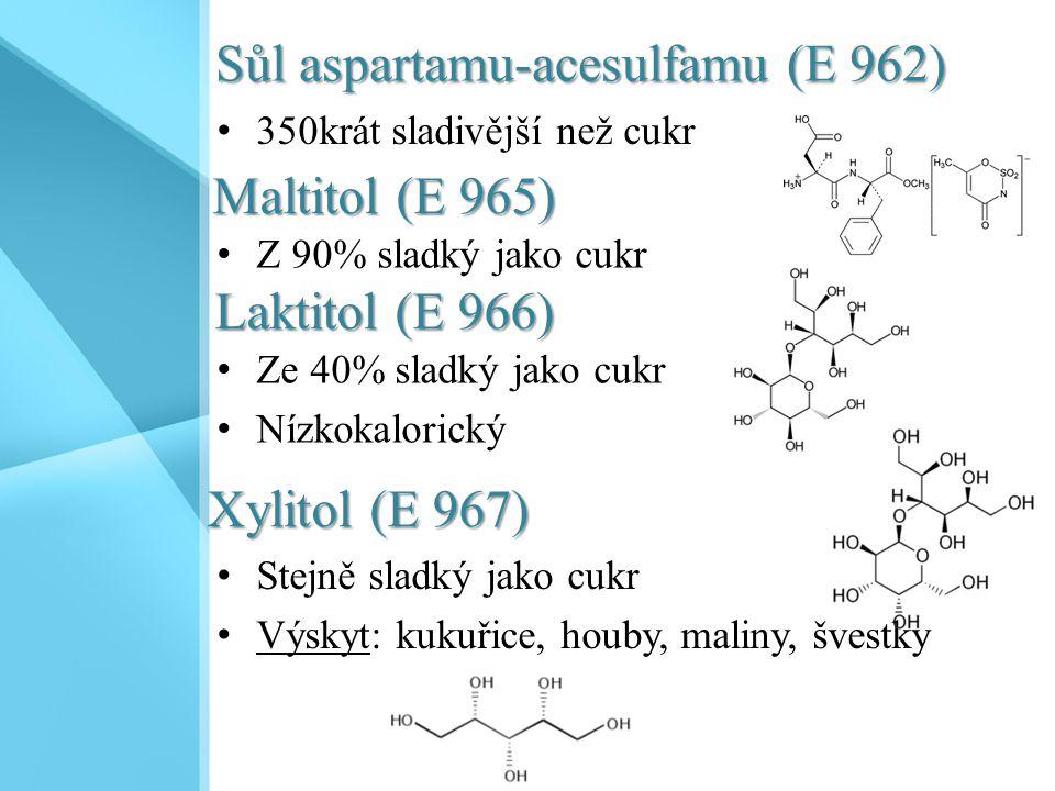 Sůl aspartamu-acesulfamu (E 962)