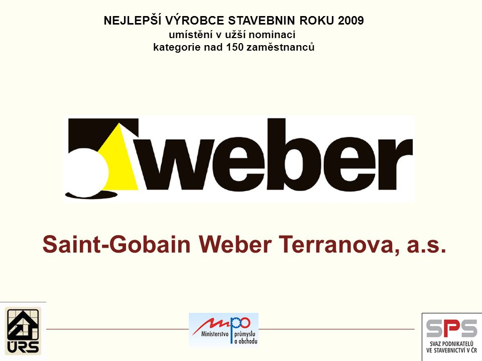 Saint-Gobain Weber Terranova, a.s.