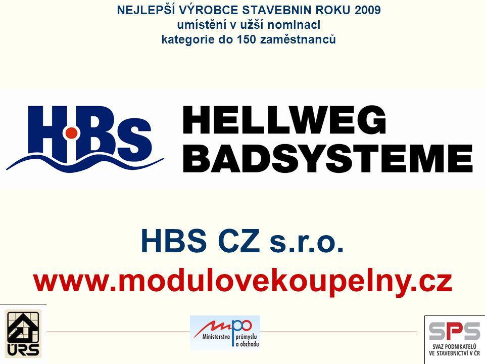 HBS CZ s.r.o. www.modulovekoupelny.cz