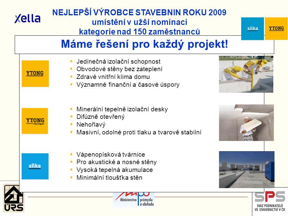 Máme řešení pro každý projekt!