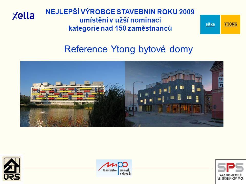 Reference Ytong bytové domy