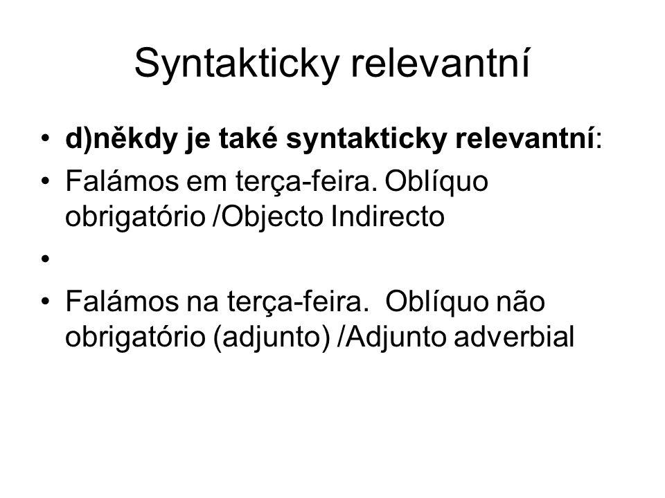 Syntakticky relevantní