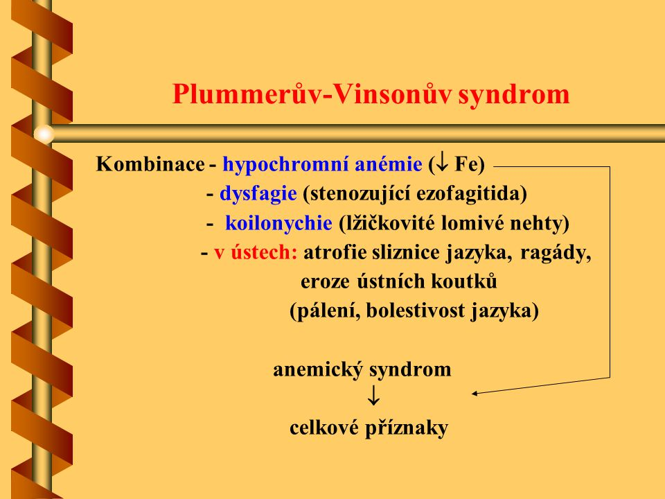 Plummerův-Vinsonův syndrom