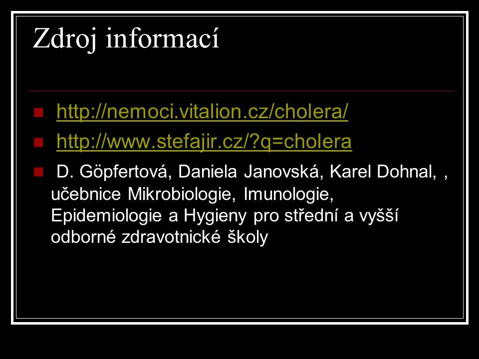 Zdroj informací http://nemoci.vitalion.cz/cholera/