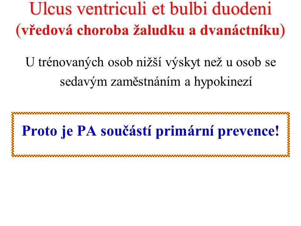 Proto je PA součástí primární prevence!
