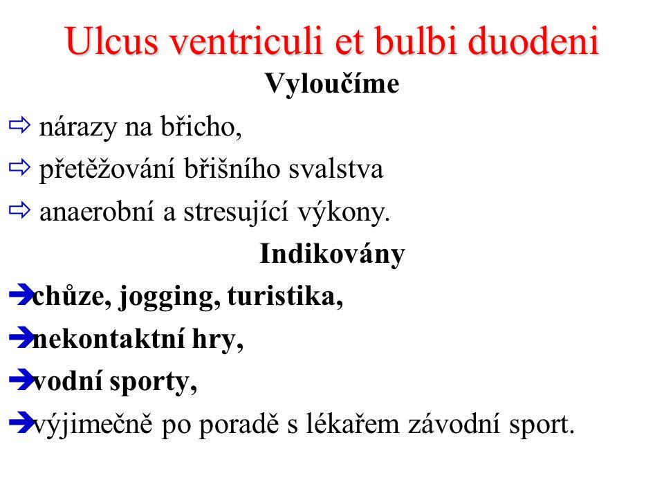 Ulcus ventriculi et bulbi duodeni