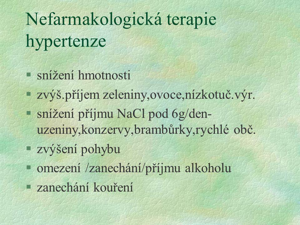 Nefarmakologická terapie hypertenze