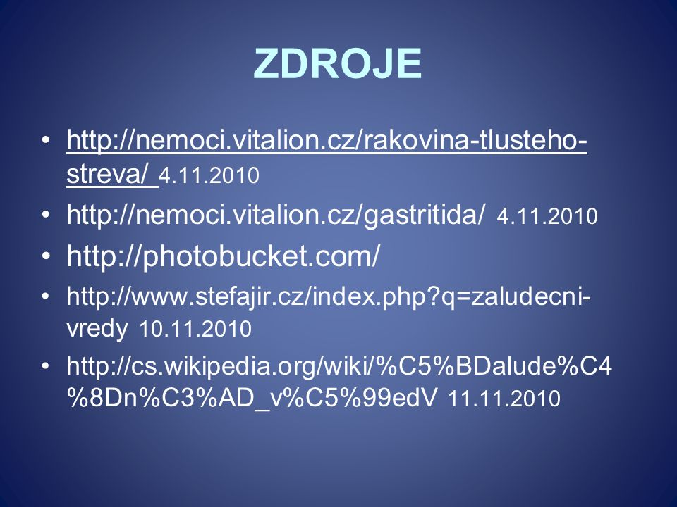 ZDROJE http://photobucket.com/
