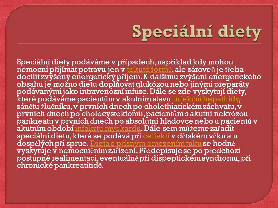 Speciální diety