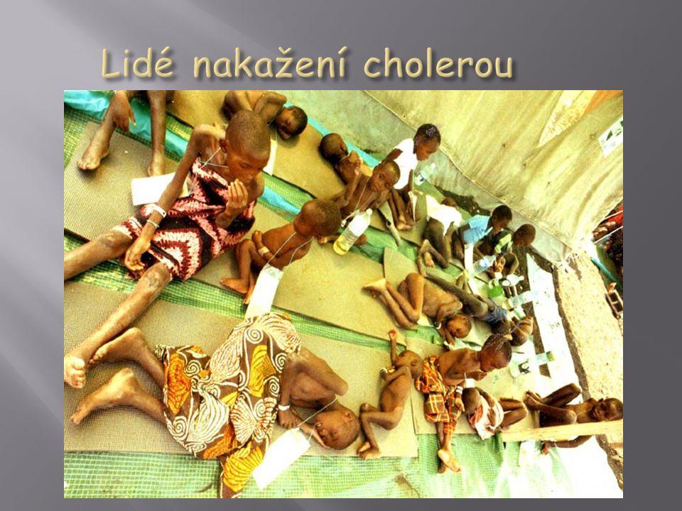 Lidé nakažení cholerou