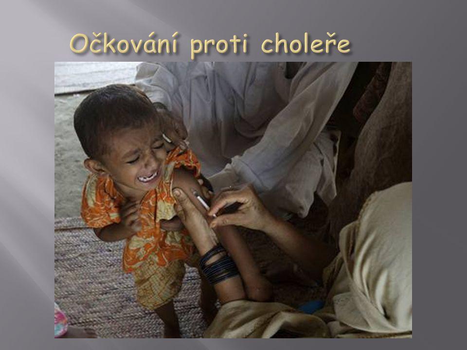 Očkování proti choleře