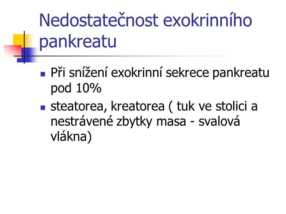 Nedostatečnost exokrinního pankreatu
