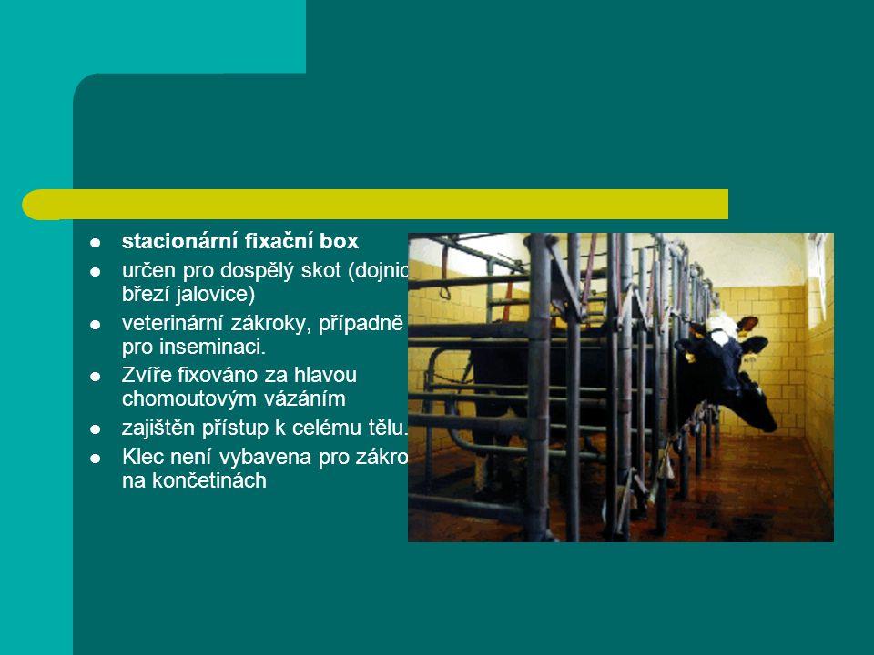 stacionární fixační box