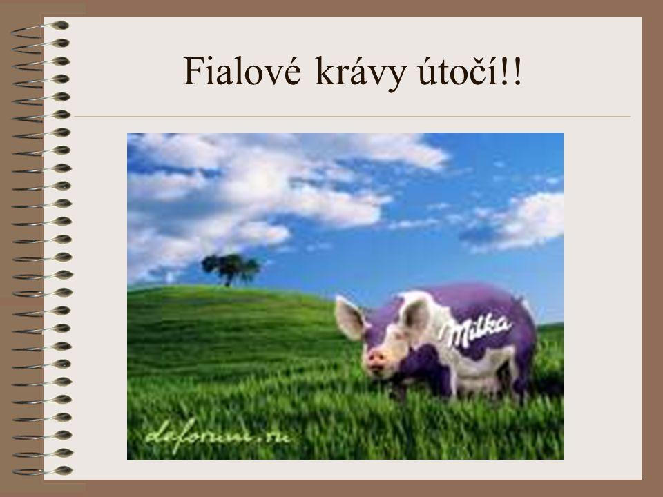 Fialové krávy útočí!!