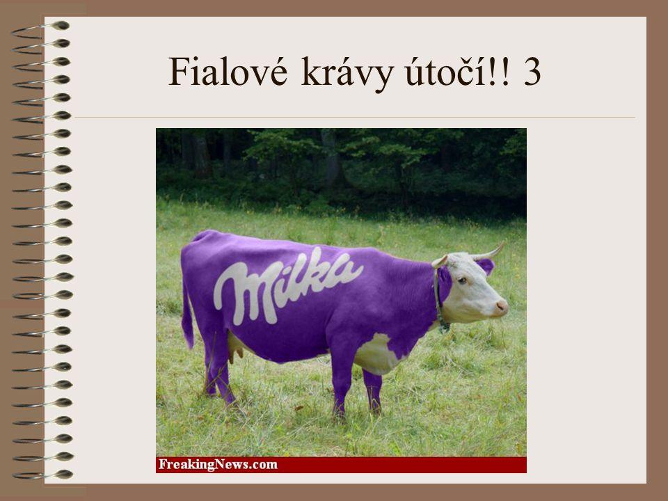 Fialové krávy útočí!! 3