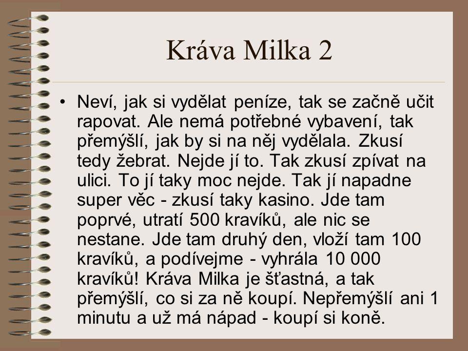 Kráva Milka 2