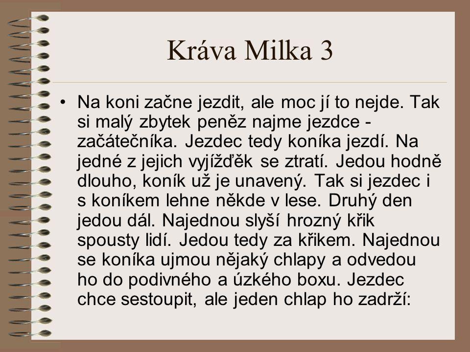 Kráva Milka 3