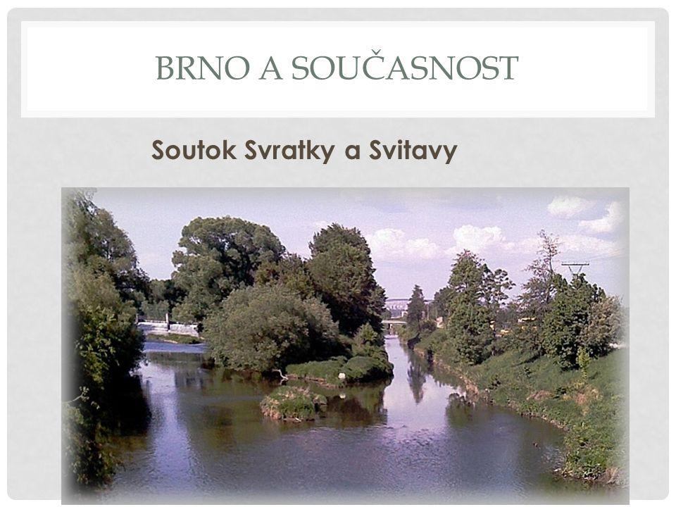 Brno a současnost Soutok Svratky a Svitavy
