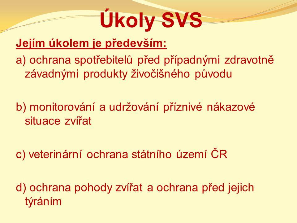 Úkoly SVS