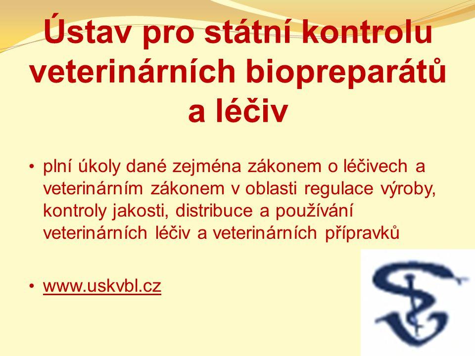 Ústav pro státní kontrolu veterinárních biopreparátů a léčiv
