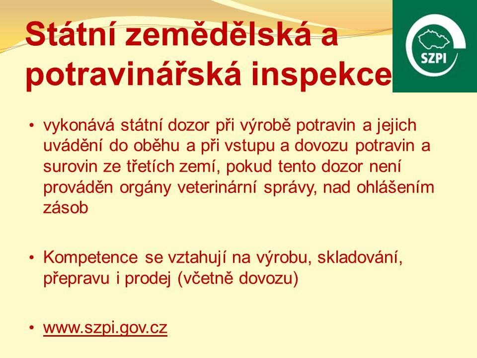 Státní zemědělská a potravinářská inspekce