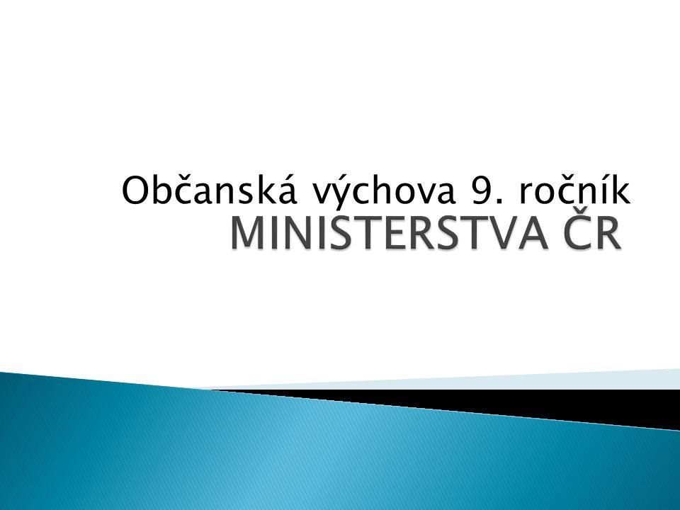 Občanská výchova 9. ročník