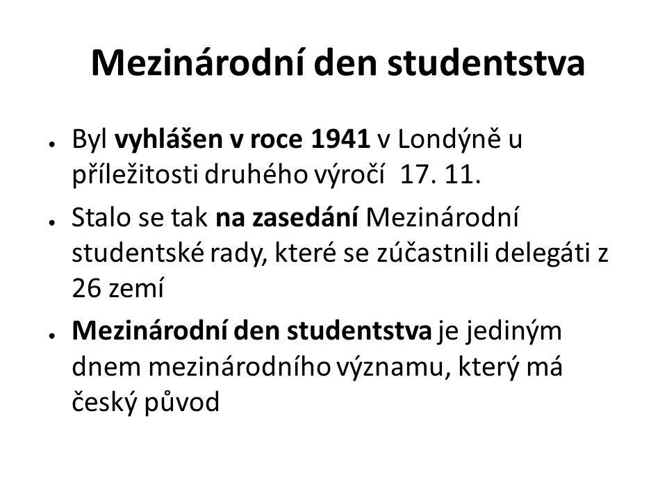 Mezinárodní den studentstva