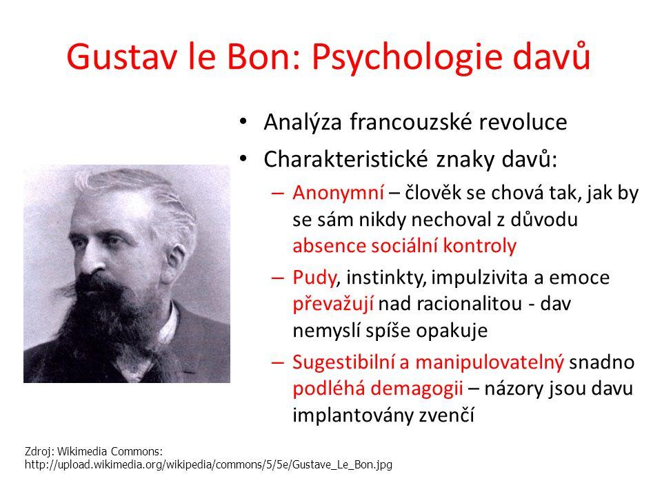 Gustav le Bon: Psychologie davů