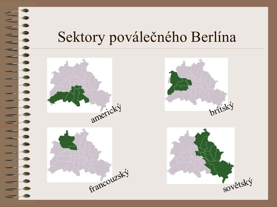 Sektory poválečného Berlína