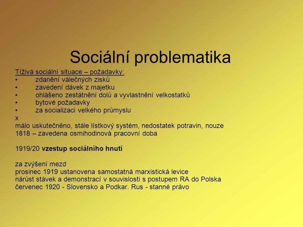 Sociální problematika