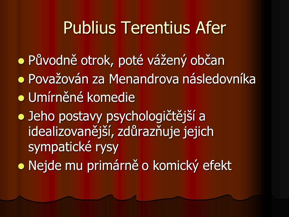 Publius Terentius Afer
