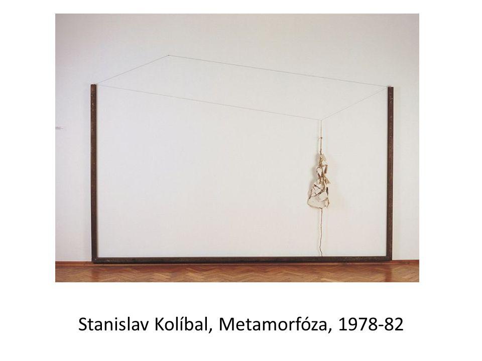 Stanislav Kolíbal, Metamorfóza, 1978-82