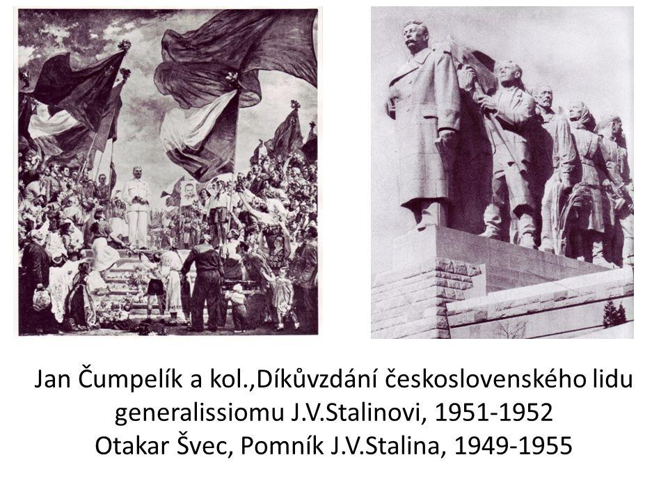 Jan Čumpelík a kol. ,Díkůvzdání československého lidu generalissiomu J