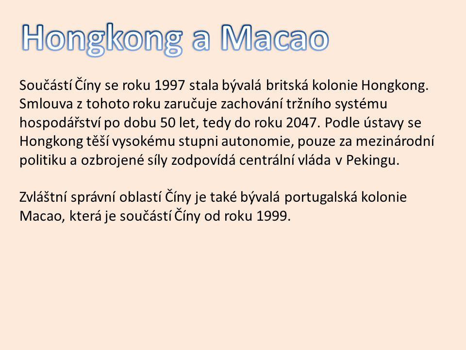Hongkong a Macao