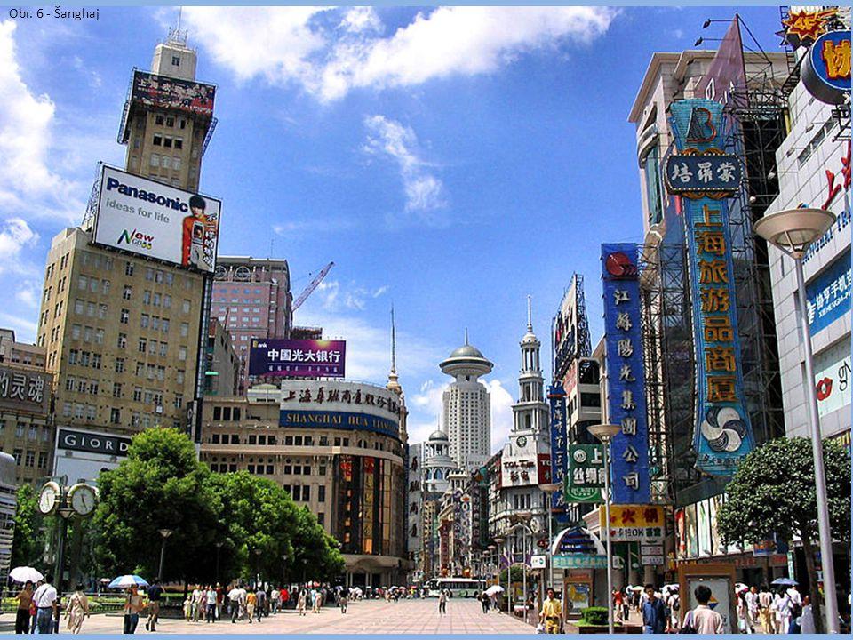 Obr. 6 - Šanghaj