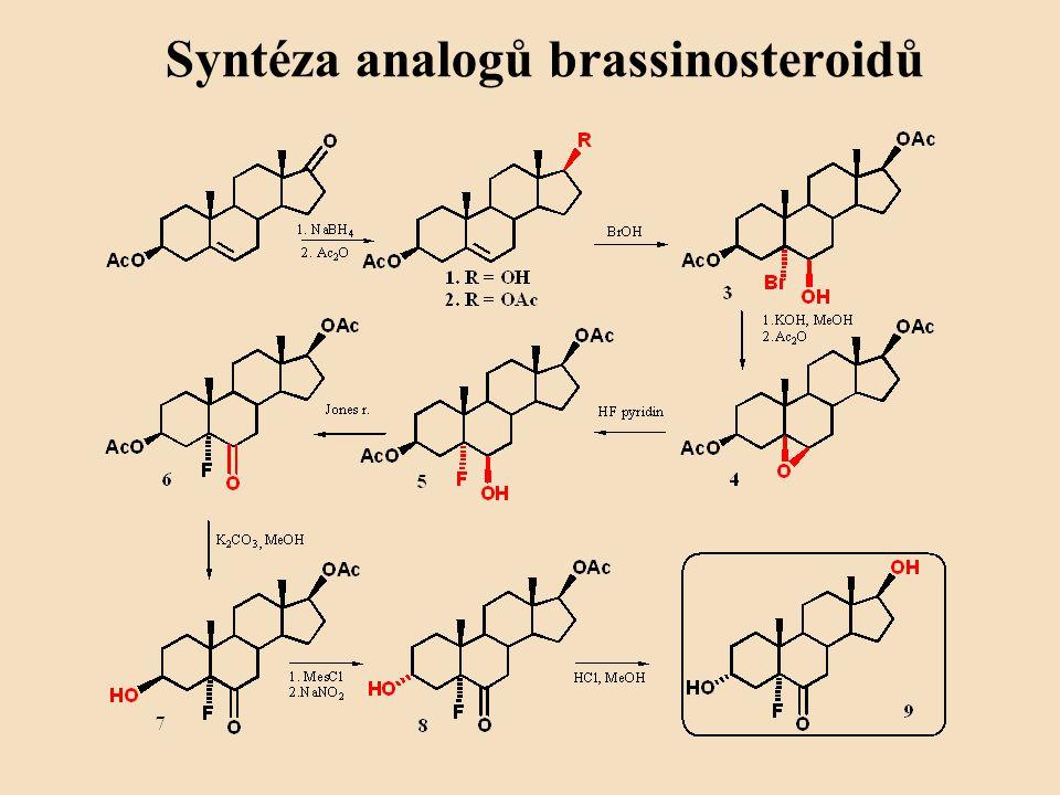 Syntéza analogů brassinosteroidů