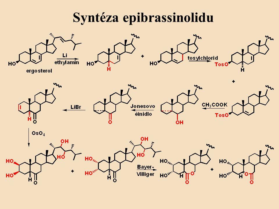 Syntéza epibrassinolidu