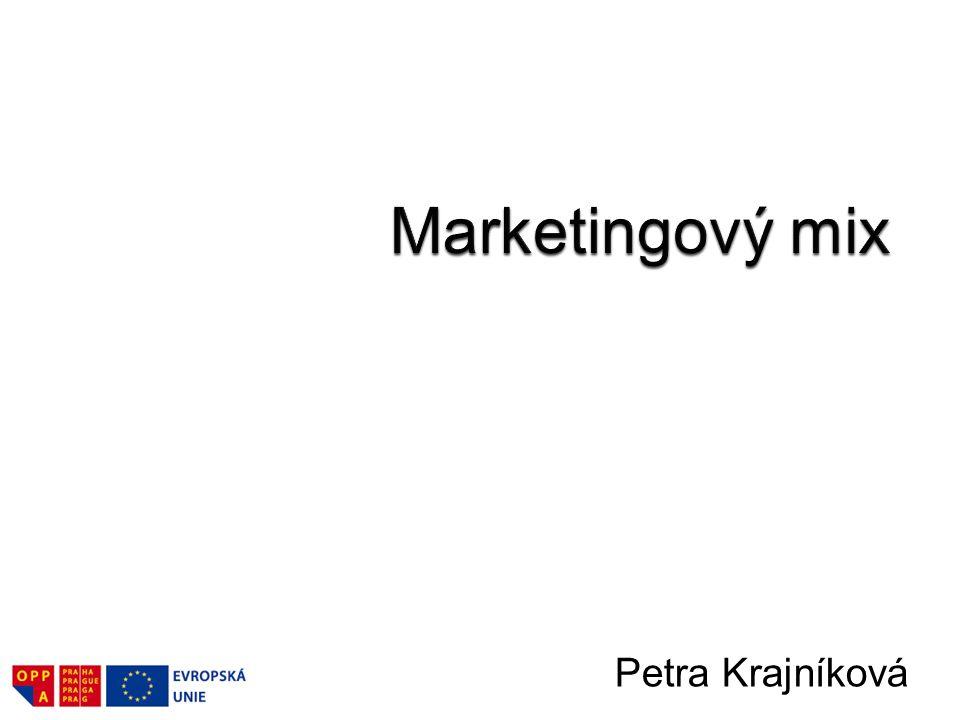 Marketingový mix Petra Krajníková