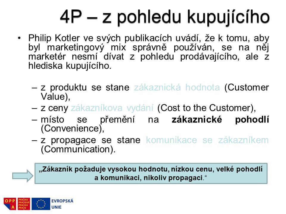 4P – z pohledu kupujícího