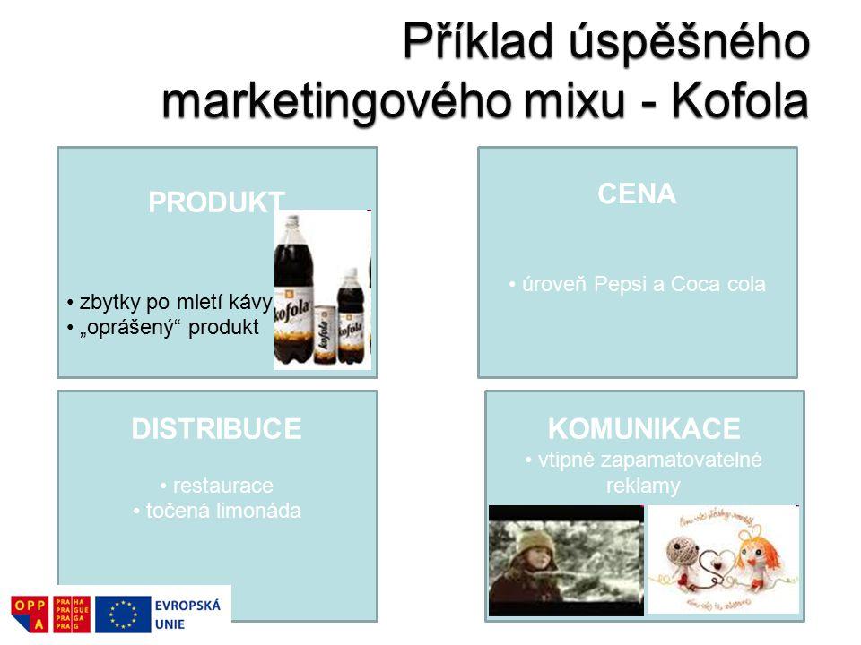 Příklad úspěšného marketingového mixu - Kofola