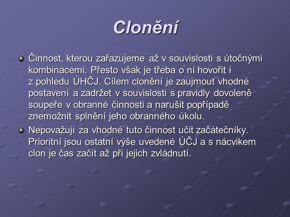 Clonění