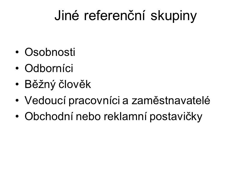 Jiné referenční skupiny