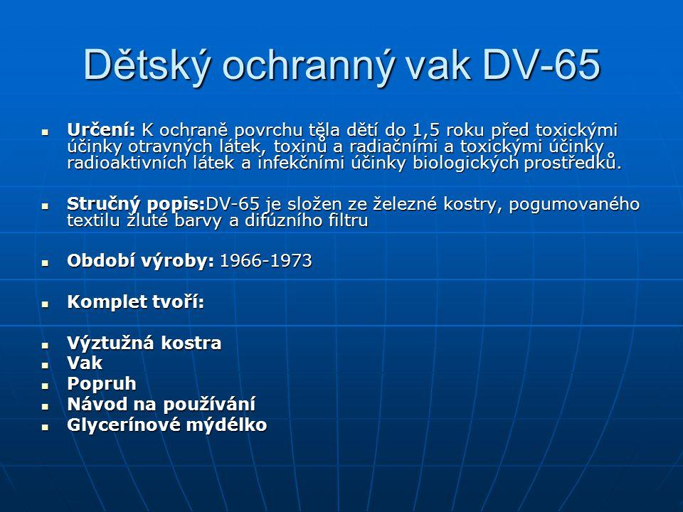 Dětský ochranný vak DV-65